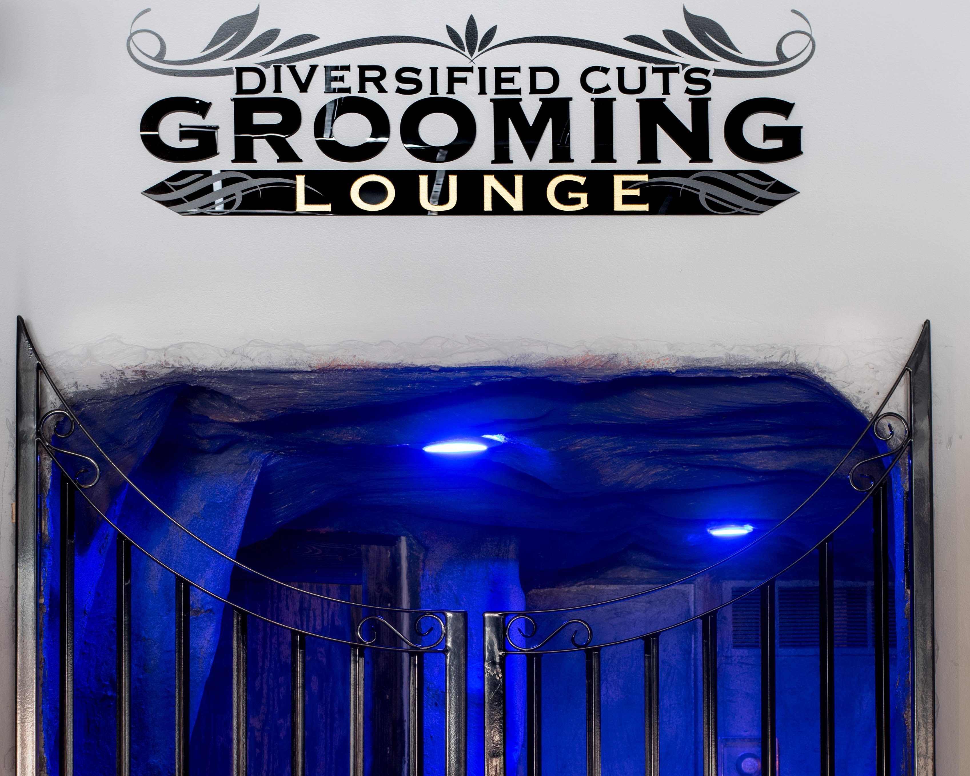 Diversided Cuts Grooming Lounge