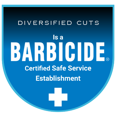 We Are BARBICIDE Certified